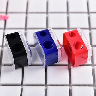 Double Holes Cosmetic Sharpener Useful Pencil Sharpener For Eyeliner Pencil New