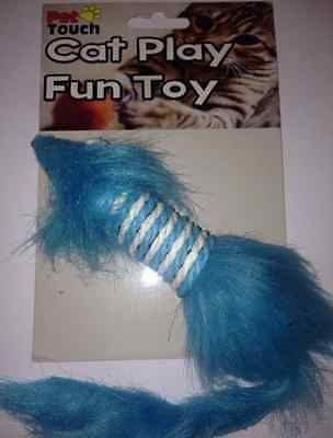 PET TOUCH - Cat play Fun toy - Toy Mouse - Great Fun For Kittens & Cats