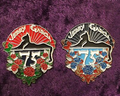 Jerry Garcia/Grateful Dead Pin Set - 75th Birthday Celebration - LE 75 -Rare