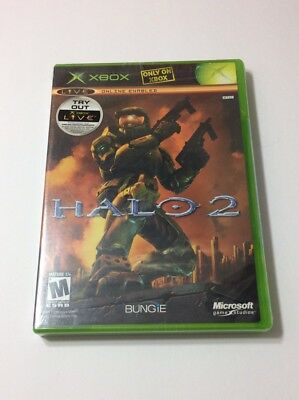 Xbox Halo 2 Brand New In Original Sealed Package unopened free .99 cent start