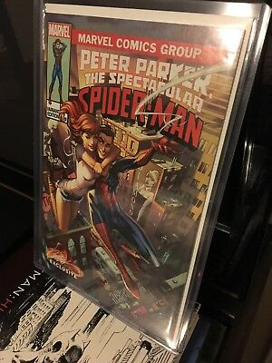 Peter Parker:the Spectacular Spider-Man #1 J Scott Campbell Variant Cover B
