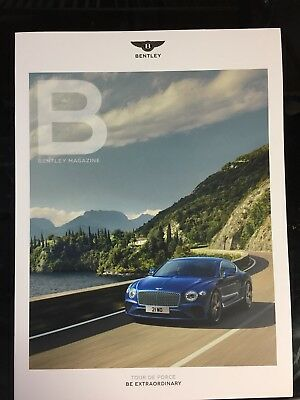 Bentley Autumn 2017 Issue 62 Catalog Magazine 2018 2019 Continental Gt