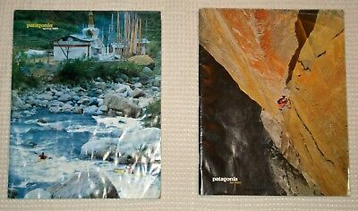 patagonia vintage rare collectors catalogs from spring and fall 2001 own history