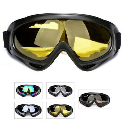 Flexible Anti-Fog Motorcycle Goggles Fit Over RX Prescription Glasses Fitover