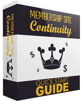 Membership Site Continuity  Sales Page & Squeeze Page