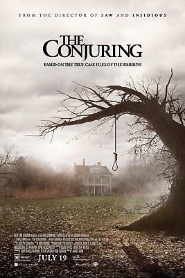 """THE CONJURING 2013 Original DS 2 Sided 27X40"""" Movie Poster"""