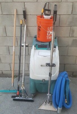 Hydro-Force Olympus Extractor M200H Heater Vac and HOSE CARPET/TILE WAND MORE!!