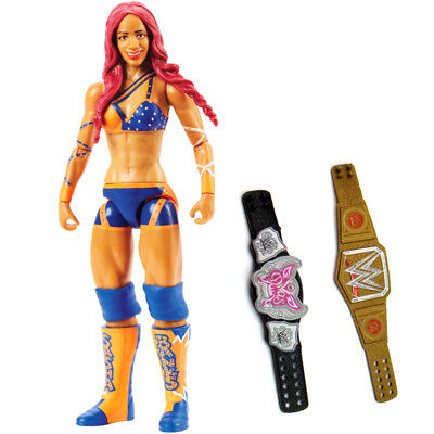 WWE NXT Diva Sasha Banks Women Wrestling 80 Action Figure Kid Child Mattel Toy