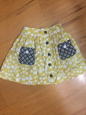 NWT Persnickety Yellow Skirt-Chloe size 8