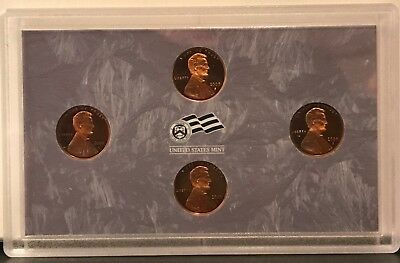 2009 Proof Bicentennial Lincoln Cents. Set of 4: Plastic Lense: No Box: Issues