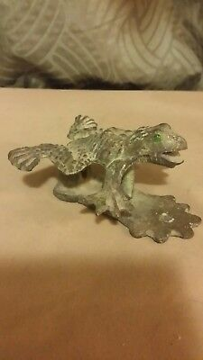 Vintage Cast Iron Frog,Door Knocker