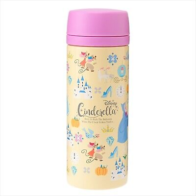 Cinderella Stainless Steel Bottle Disney Store Japan Story Book Prince 500ml F/S