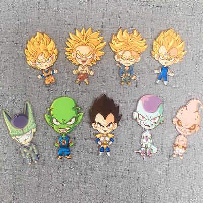 Dragon Ball Monkey King Vegeta Refrigerator Magnet Fridge Sticker Decoration