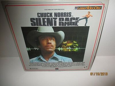 SILENT RAGE CHUCK NORRIS - Laserdisc I COMBINE SHIPPING ,LARGE COLLECTION LISTED