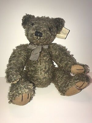 RUSS Limited Edition Signature Bears From The Past LE001 Brown Bear Retired 1996