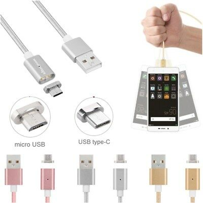 Câble USB Chargeur Magnetique Metal Charger Magnetic Data Pour Android Samsung