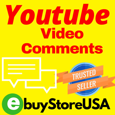 20 Youtube-Video-Comments+20ᒪIKE | Fast Instant-High Quality | Cheap SEO