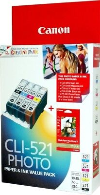 Canon new Value Pack CLI-521