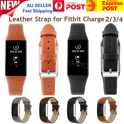 Genuine Leather Wrist Watch Band Replacement Strap For Fitbit Charge 2 Wristband