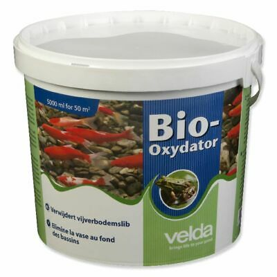 Velda Bio-oxydator Pond Additive Water Solution Sludge Remover 5000 ml 122156