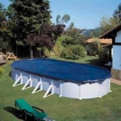Gre Swimming Pool Cover 500x300cm Oval UV Resistance Winter Sheet Protector
