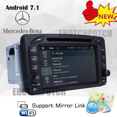 For Audi A4 B6 B7 RS4 Android 7.1 Car DVD Player GPS Nav Double 2 Din WIFI Radio