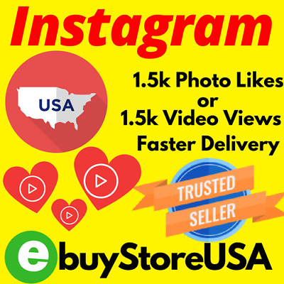 1500 USA Instagram-ᒪIKEᔕ-ᐯIEᗯᔕ..Fast Delivery