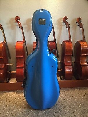 Cello Cellokasten Celloetui Cellokoffer GEWA IDEA X-Lite 3.9  Blau Cellocase