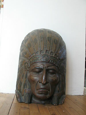 Tribal Art Beautiful Very Rare Old Carved Indian Mask