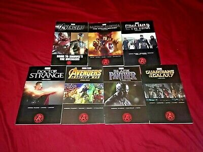 Avengers Prelude 1 -4 Civil War 1-4  Black Widow 1-3 Ant-Man 1 2 Dr Strange 1 2