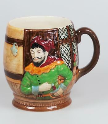"""Beswick Jug  No.1127  """"Merry Wives of Windsor""""  """"Pistol With Wit & Steel"""""""
