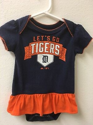 Baby Girl's Auburn Tigers Outfit Size 6 - 9 Months Cute!!