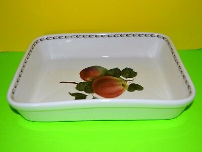Queens Fine Bone China Royal Horticultural Society Hookers Fruit Platter Apples