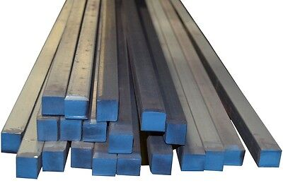 """1 Piece - 1-1/2"""" x 1-1/2"""" x 12"""" A36 Prime New Hot Rolled Steel Square Bar UPS"""