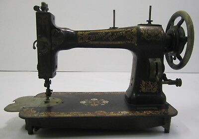 Antique Vtg White Family Rotary Sewing Machine Hand Crank No Case or Treadle