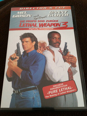 Lethal Weapon 3 VHS Director's Cut