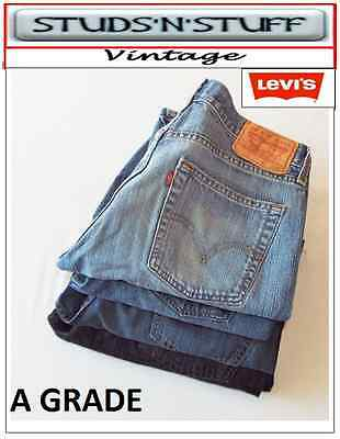 Vintage Levis 505'S Regular / Straight Fit & 550'S Relaxed Fit Jeans