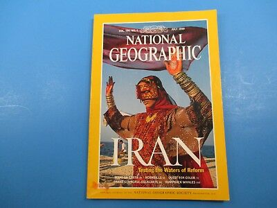 National Geographic Magazine July 1999 Iran Testing the Waters of Reform