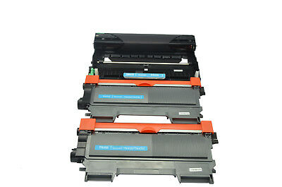 3PK TN450 TN420 High Yield Toner DR420 Drum For Brother MFC-7860DW 7460DN Drum