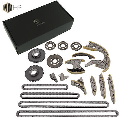 Timing Chain Set Incl. SPROCKETS VW Audi V6 2,7/3,0 Tdi Steuerspanner