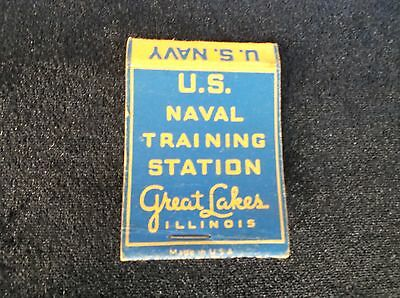 Old U. S. Navy Antique Vintage Matchbook Cover Matches Covers Collectible Ads Ad