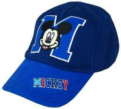 Baby Toddlers Boys Kids Mickey Mouse Character Summer Baseball Sun Cap Hat.