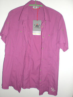Outdoor Bluse Maul Gr.44,himbeer Neu