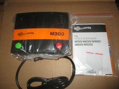 New Gallagher M300 Fence Charger (Not In Box)