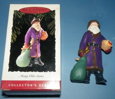 Merry Olde Santa Hallmark ornament 1995 #6 series Santa Claus