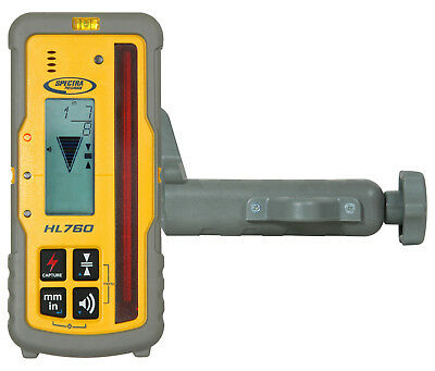 Spectra Precision HL760 Digital Readout Receiver w/Rod Clamp (Authorized Dealer)