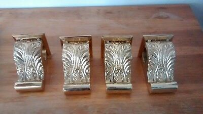 Brass Corbel Curtain Rod/Drapery Holders