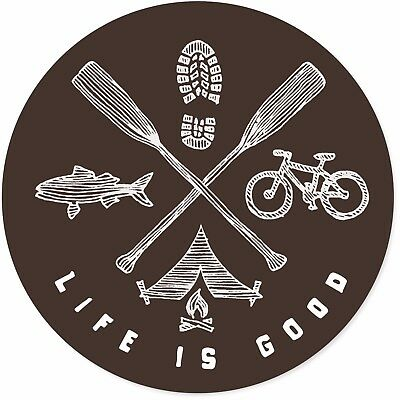 Life is Good.U 4 Circle Stic Outdoor Elements  - Miscellaneous
