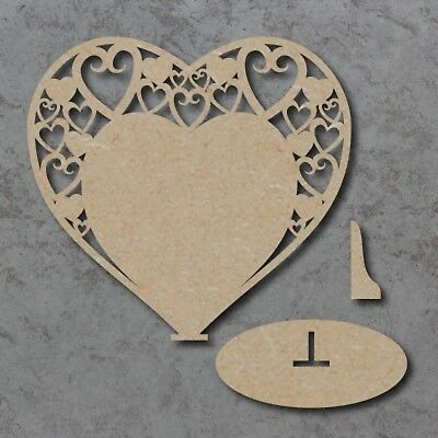 Large Freestanding Wooden Table Numbers Names Wedding Craft MDF Unpainted 21cm
