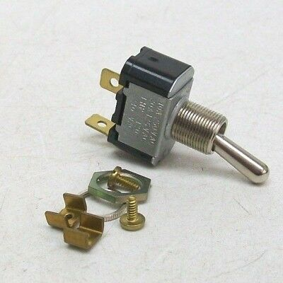 NTE NTE54-103 15A SPST -NONE-OFF Toggle Switch ON